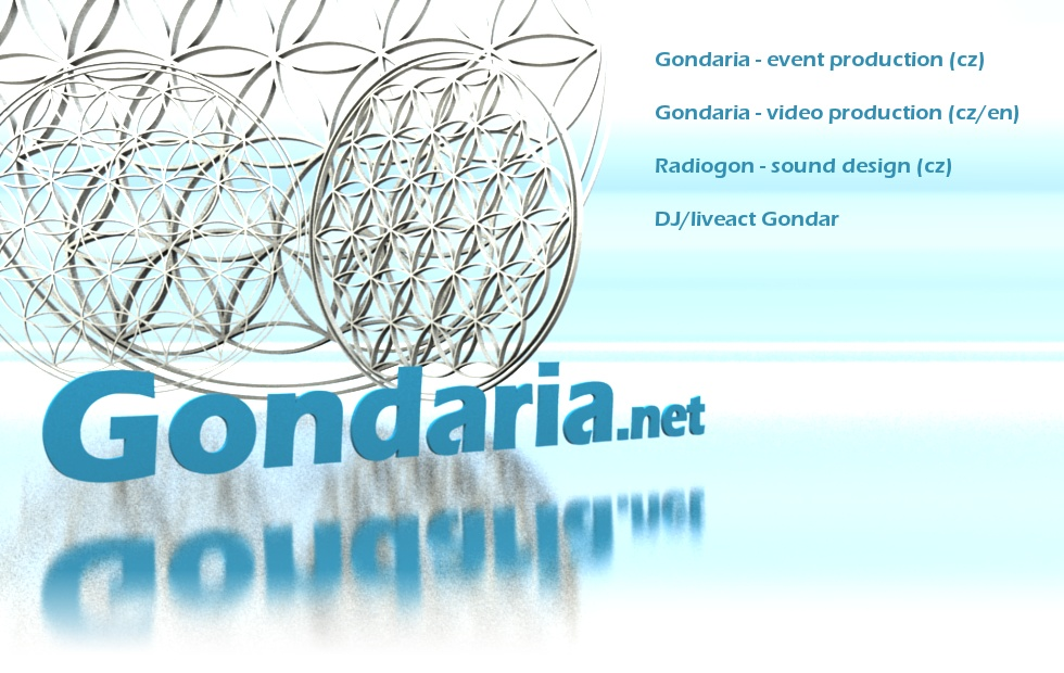 Gondaria.net - Event production (cz), Video production (cz/en), Sound design (cz)